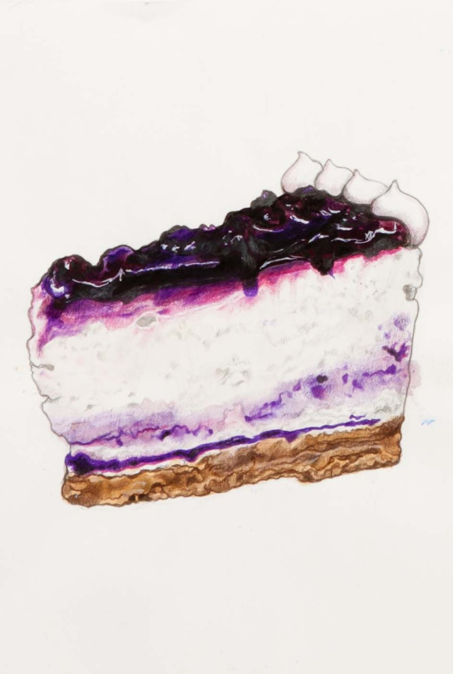 Blueberry cheescake - Volcanic Crystallization